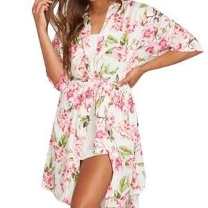 Show Me Your MuMu Brie Robe Garden Of Blooms O/S